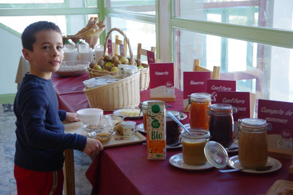 CIS - buffet petit déjeuner